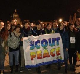 In piazza per la pace a Firenze